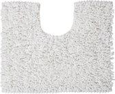 Sealskin Twist - Toiletmat - 45x50 cm - Wit