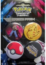 Pokemon Buttons - Diamond Pearl Badge Pack