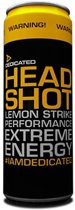 Dedicated nutrition Headshot Energy Drink - 1 tray - Cherry Bliss