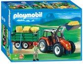 Playmobil Tractor met Aanhanger - 4496