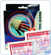 Burnshield Twin Pack 10x10cm