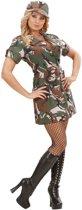 Sexy militair outfit voor dames - Verkleedkleding - Medium