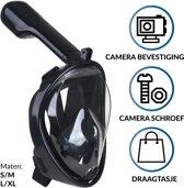 Gadgy Duikmasker S/M - Full face duikbril met snor