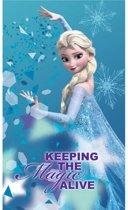 Disney Frozen Alive - Strandlaken - 70 x 120 cm - Blauw