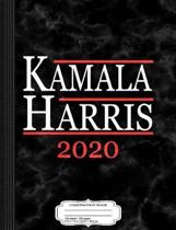 Kamala Harris for President 2020 Composition Notebook