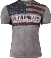Gorilla Wear USA Flag T-shirt - XXXXL