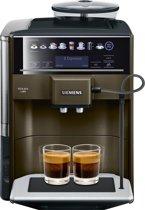 Siemens TE653318RW  EQ6 Plus - Volautomaat espressomachine - Bruin Metaal
