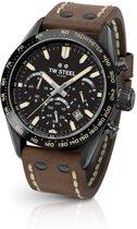 TW Steel Chrono Sport CHS1 Heren Horloge Zwart PVD 46mm Chrono