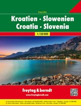 FB Kroatië & Slovenië Wegenatlas