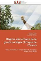R�gime Alimentaire de la Girafe Au Niger (Afrique de l'Ouest)
