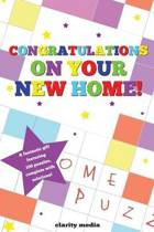 Congratulations on Your New Home Puzzle Book