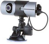 Auto Dashcam Dual Cam Met GPS Logger En 16GB Geheugenkaart