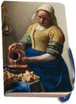 Notitieboek A6 Het melkmeisje, Johannes Vermeer