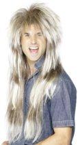 """""""Lange blonde pruik voor mannen - Verkleedpruik - One size"""""""