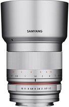 Samyang 50mm F1.2 As Umc Cs - Prime lens - geschikt voor Fujifilm X - zilver