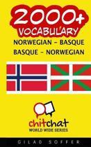 2000+ Norwegian - Basque Basque - Norwegian Vocabulary
