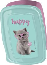 Studio Pets Happy Cat - Lunchbox - 18,5 x 13 cm - Multi
