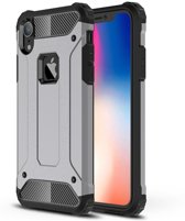 Apple iPhone XR Hoesje - Extreme Back Case - Grijs