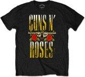 Guns N' Roses - Big Guns heren unisex T-shirt zwart - XL
