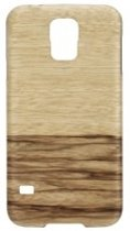 Man&Wood Samsung Galaxy S5 / S5 Neo Back Case Wood Terra Black