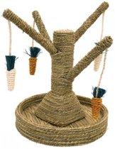 Rosewood Speelboom Wortels - Konijnenspeelgoed - Bruin - 40 x 33 x 33 cm