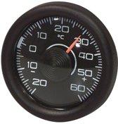 Richter Analoge Thermometer - Rond - Zwart