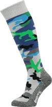 Barts Skisock Camo Kids - Ski Sokken - Maat 27-30 - Blue