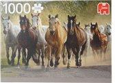 Jumbo Legpuzzel Paarden 1000 Stukjes