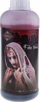 Halloween - Fles met nep bloed 1 liter