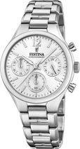 Festina Boyfriend Collection horloge  - Zilverkleurig