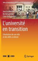 L'Universit En Transition