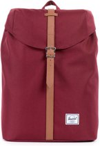 Herschel POST Rugzak bordeaux/brown