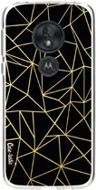 Casetastic Softcover Motorola Moto G7 Play - Abstraction Outline Gold