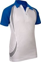 Avento Sportpolo Jongens Wit/blauw Maat 176