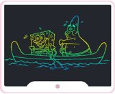 15 inch Multicolor LCD Tekenbord / LCD Teken Tablet / LCD Schrijf Tablet - Wit-Roze
