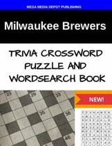 Milwaukee Brewers Trivia Crossword Puzzle and Word Search Book