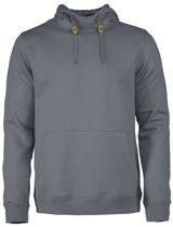Printer Fastpitch hooded sweater RSX Steelgrey 4XL