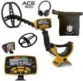 Garrett ACE 400 I met gratis Detectorandus vondstentas metaaldetector 400I