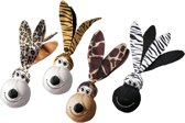 Kong Wubba Floppy Ears - Hondenspeelgoed - 22,4 cm - Assorti