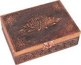 Tarot of Sieradendoos Lotus Koperkleur