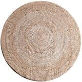 Karpet jute rond 120 cm naturel