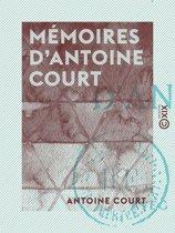 Mémoires d'Antoine Court