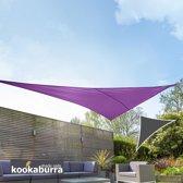 Kookaburra3,6m Driehoek Paars Geweven Schaduwdoek (Waterdicht Zonnezeil)