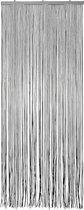 Vliegengordijn PVC Twinkle Zwart Zilver 90X220