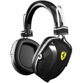 Logic3 Ferrari Scuderia P200 Over-Ear Pitlane Headphones Zwart PC + Mac + Mobile