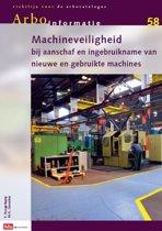 Arbo-informatiebladen AI-58, machines, aanschaf en in gebruikname