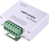 SX-A02 signaalkanaal dubbele kaart versterker LED-controller, DC 12-24V (wit)