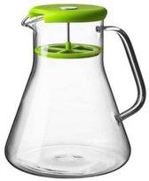 Qdo Karaf Theepot - 1 l - Glas - Groen