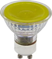 SPL reflectorlamp LED geel 230V 5W (vervangt 50W) GU10 50mm