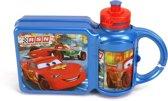 Cars Broodtrommel / Lunchtrommel met Bijpassende Drinkfles voor Kinderen   Lunch Trommel   Lunchboxen   Drinkbeker   Drinkbekers   Lunch Box   Lunchbox   BPA Vrij